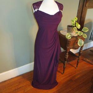 R & M Richards Long Formal  Gown/Dress Sleeveless